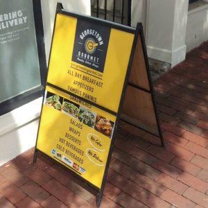 Sidewalk Signs 5b55fd9b62a81 restaurant aframe menu storefront outdoor indoor custom vinyl mural collection 300x300