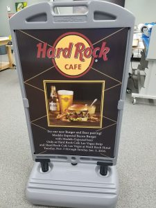 A-Frame Signs portable temporary a frame promotional sign 225x300