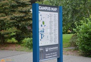 custom wayfinding map